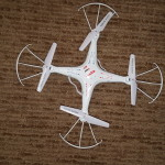 One of our quadcopters.